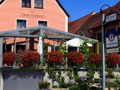 Unser Gasthof mit modernem Wintergarten